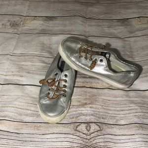 SPERRY Silver Top-Sider